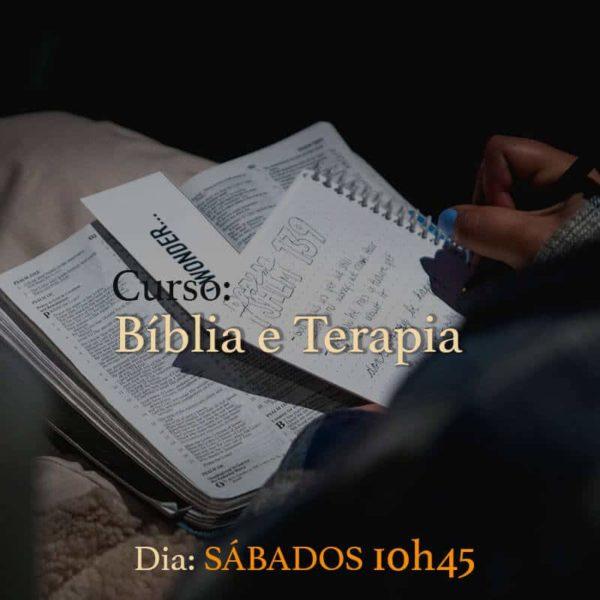 Curso - Bíblia e Terapia - Imagem de destaque