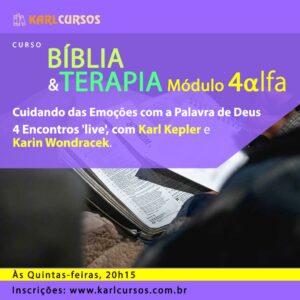 Curso Bíblia e Terapia Módulo IV alfa – 18/11 – às Quintas-Feiras – 20h15