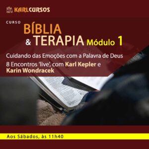 Curso Bíblia e Terapia Módulo 1 (Profissionais) –  08/05 – aos Sábados, às 11h40