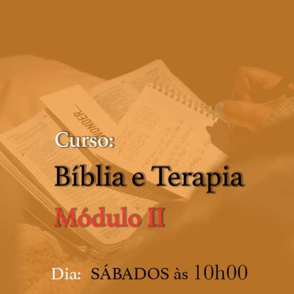 Curso - Bíblia e Terapia - Módulo II