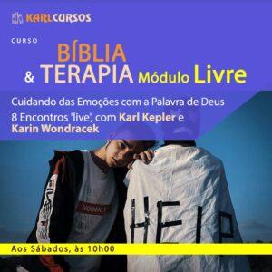 Curso Bíblia e Terapia Módulo Livre – 07/08 – Sábados – às 10h00