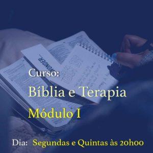 Curso Bíblia e Terapia Módulo 1 (Profissionais) –  09/11 – Segundas e Quintas – das 20h00 às 21h20