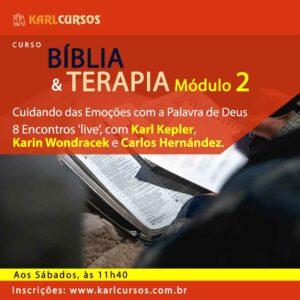 Curso Bíblia e Terapia Módulo II – 30/10 – aos Sábados – das 11h40
