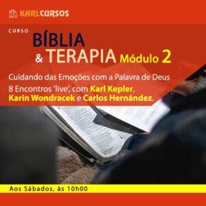 Curso Bíblia e Terapia Módulo II – 30/10 – aos Sábados – das 10h00 às 11h20