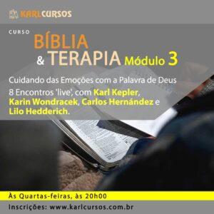 Curso Bíblia e Terapia Módulo III – 26/05 – Quartas- das 20h00 às 21h00